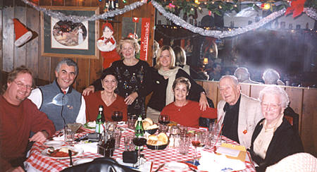 Los Angeles Turners  Board of Directors, Christmas 2004.
